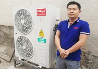 clitech sales with heat pump